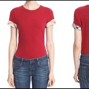 Burberry Shirt - Maroon